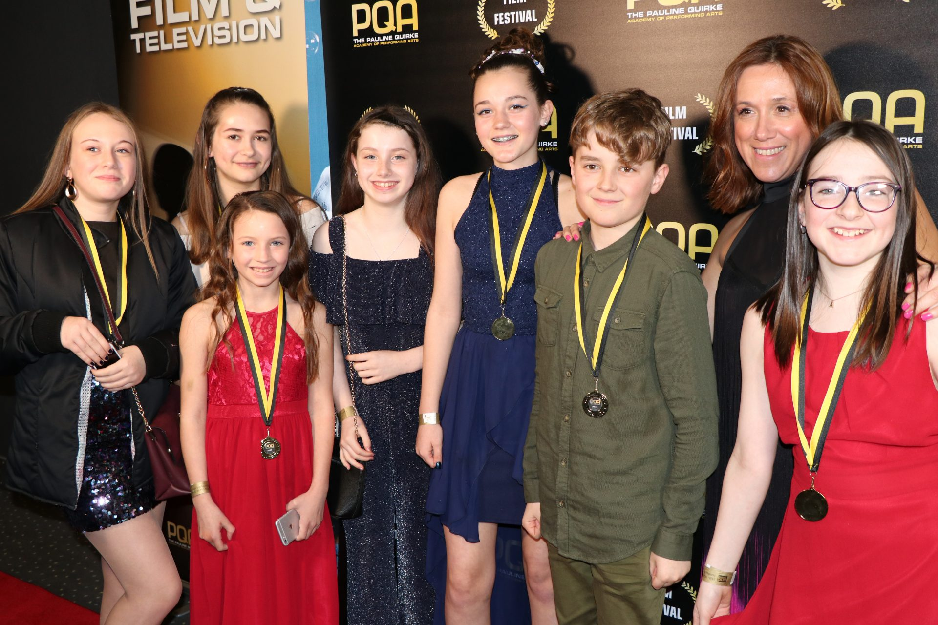 PQA Thanet AM walk the red carpet! - Pauline Quirke Academy of ...